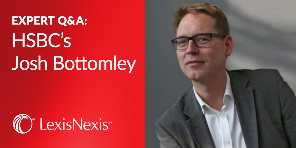 HSBC Q&A with Josh Bottomley on Big Data Initiatives