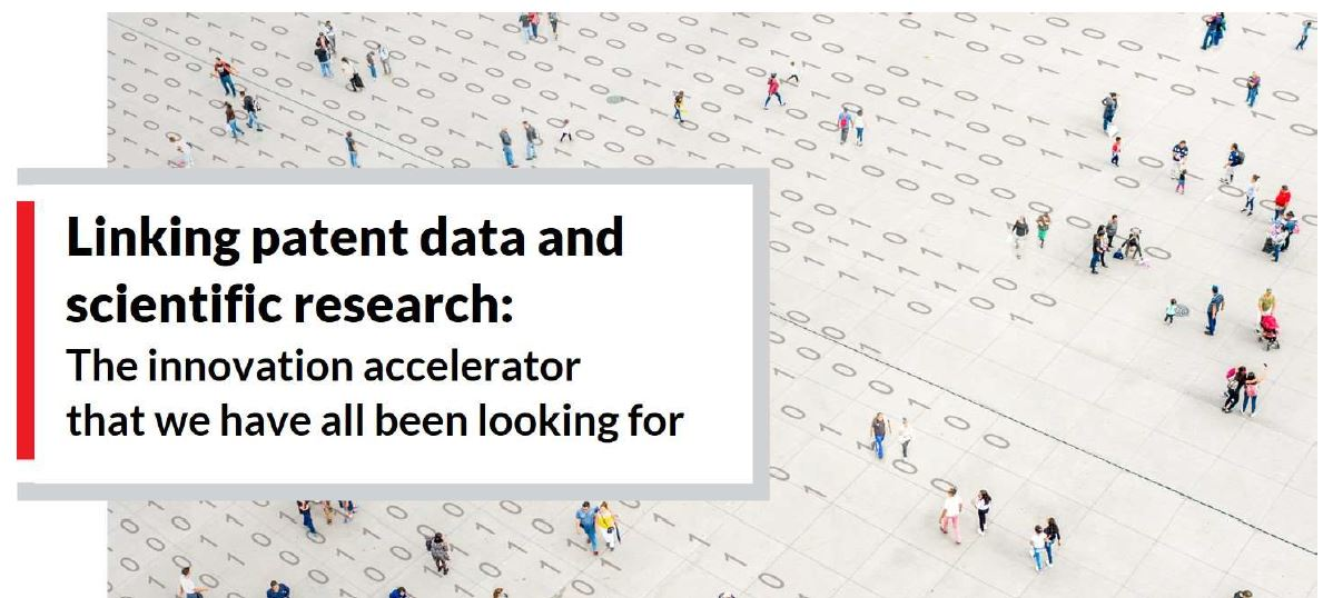 Linking patent data and scientific research: the innovation accelerator we've all been looking for