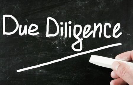 What does a typical due diligence process look like?
