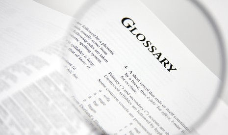 glossary illustration